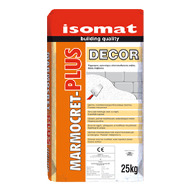 ΣΟΒΑΣ ΤΕΛΙΚΗΣ ISOMAT MARMOCRET PLUS DECOR 25Kgr.