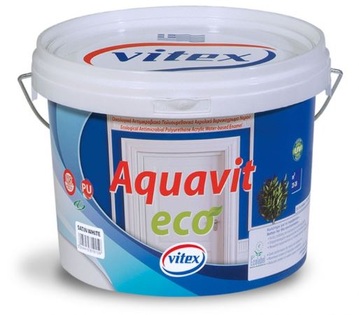 ΒΕΡΝΙΚΟΧΡΩΜΑ VITEX AQUAVIT SATIN ECO 750 ml
